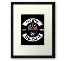 The Clown Motorcycle Club - Neo Tokyo (Akira) Framed Print