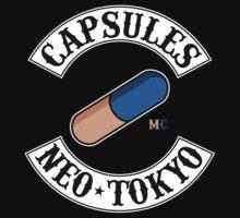 Neo Tokyo Capsules (Akira) by CloakAndDaggers