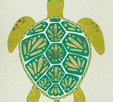 Green Sea Turtle by Cat Coquillette