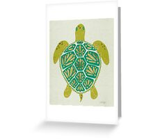 Green Sea Turtle Greeting Card