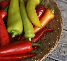 Chillies by Jeanne Horak-Druiff