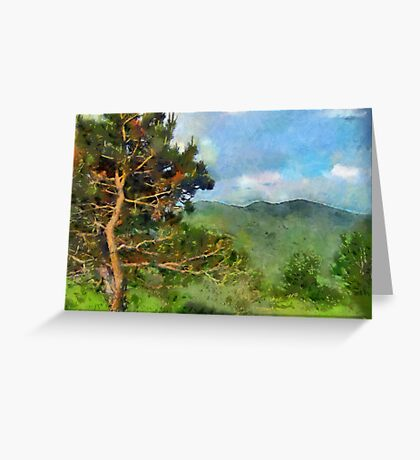 Cantabria, Northern Spain Greeting Card