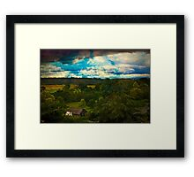 Nice Weather For Trolls In the Shire Today Framed Print
