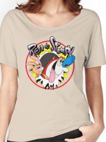 Ren & Stimpy Women's Relaxed Fit T-Shirt