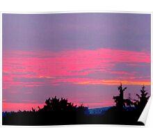 Sunset vertigo Poster