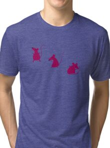 Mouse Party (T-shirt) Tri-blend T-Shirt
