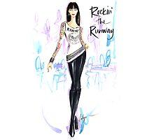 Rockin' The Runway Photographic Print