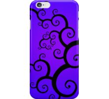 Purple Spiral iPhone Case/Skin