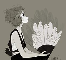 1920s fashion by Lifeanimated