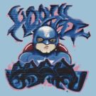 Graffiti- SUPER HERO- Tee 6 by DAdeSimone