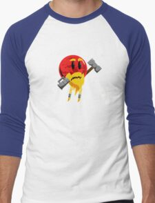 Red Dwarf sun Men's Baseball ¾ T-Shirt