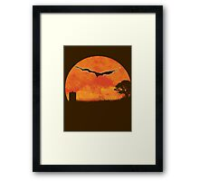 A Crack in the Universe! - Doctor Who Framed Print
