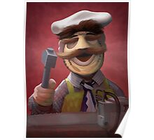 Muppet Maniacs - Swedish Chef as Leatherface Poster
