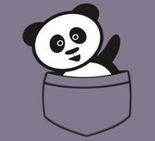 Pocket panda Kids Tee
