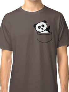 Pocket panda Classic T-Shirt