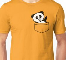 Pocket panda Unisex T-Shirt
