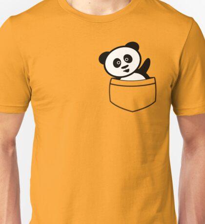Pocket panda Unisex T-Shirt