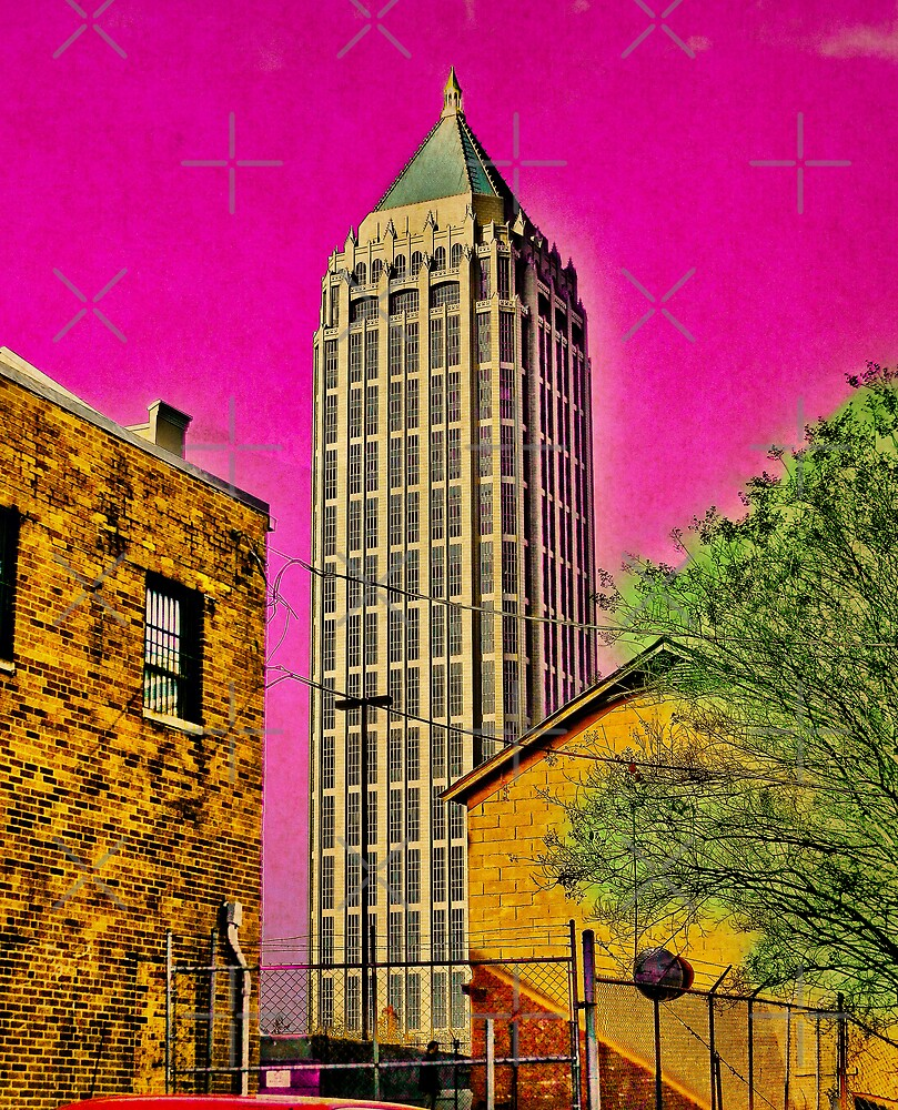 The city is groovy when you see it through acid shades by Scott Mitchell