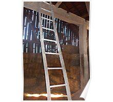Barn Ladder Poster