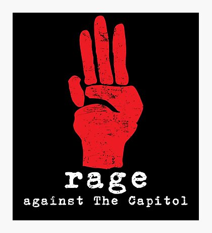 Rage Against The Capitol Photographic Print
