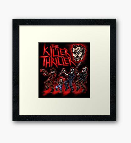 The Killer Thriller Framed Print