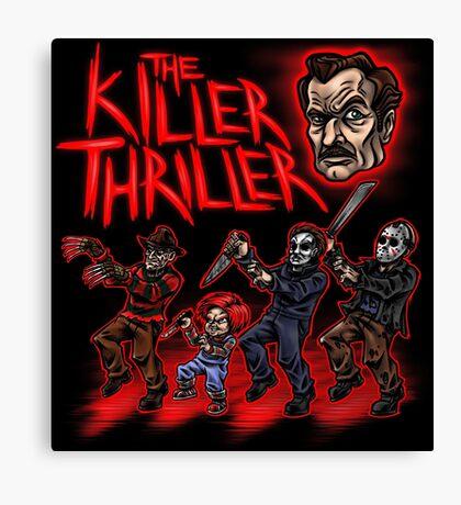 The Killer Thriller Canvas Print