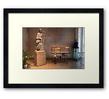 Votive Candles • Cathedral of St Stephen • Brisbane • Australia Framed Print