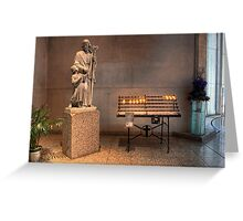 Votive Candles • Cathedral of St Stephen • Brisbane • Australia Greeting Card