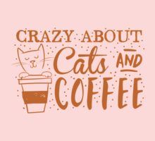 Crazy about CATS (and coffee) One Piece - Long Sleeve