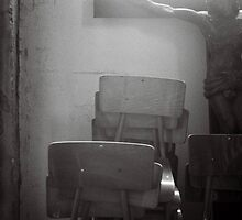 Jesus with Chairs by RareMood