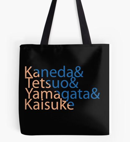 The Capsules Helvetica (Akira) Tote Bag