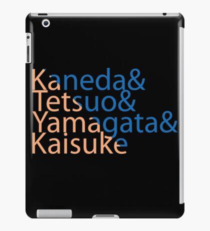 The Capsules Helvetica (Akira) iPad Case/Skin
