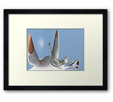 If Pigs could Fly Framed Print