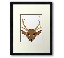 Deer Lighter Framed Print