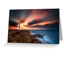 Cape Nelson Lighthouse Greeting Card