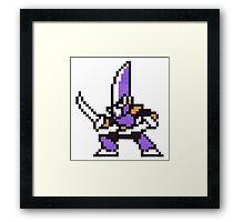 blade man Framed Print