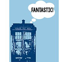 """FANTASTIC!"" - 9th Doctor Photographic Print"