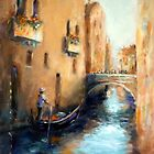 A CANAL IN VENICE by Ivana Pinaffo
