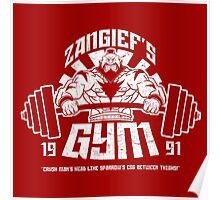 Zangief's Gym  Poster