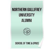 NORTHERN GALLIFREY UNIVERSITY ALUMNI Poster