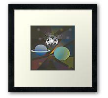 Galactic Disco Framed Print