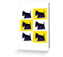 Scottie Dogs Greeting Card