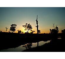 australiana twilight #1 Photographic Print