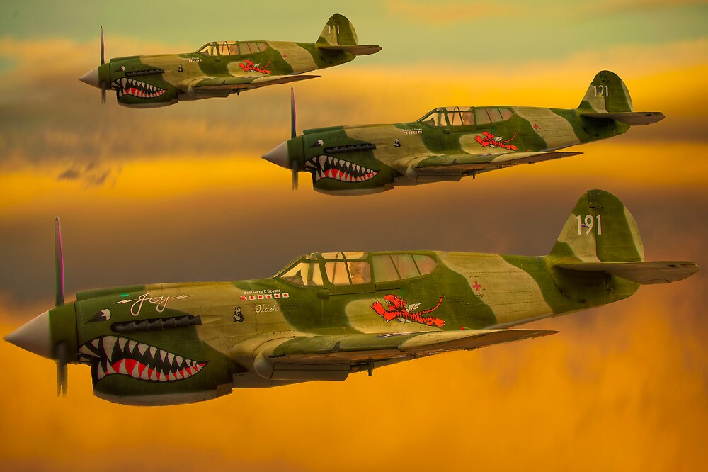 Flying Tigers by Mike Capone
