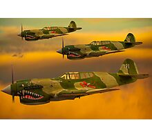 Flying Tigers Photographic Print