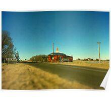 Barleyfields Crossing Poster