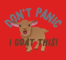 Don't PANIC! I goat this! One Piece - Short Sleeve
