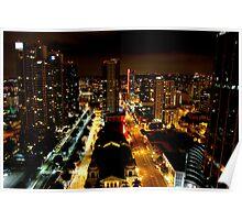 Night Landscape San Diego Part 2 Poster