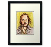 Ichabod Crane Framed Print