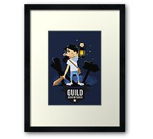 Girl Adventurer Framed Print